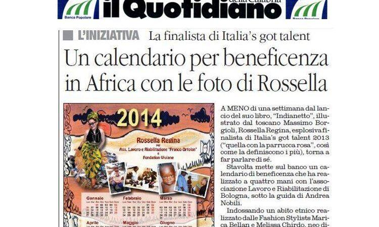 Calendario di beneficenza 2014