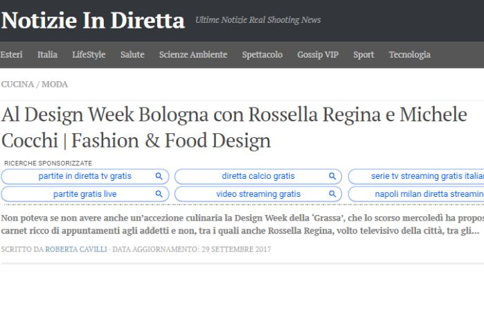 Alla Bologna Design Week
