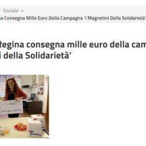 € 1000 a Telethon